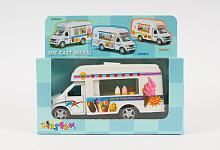 Машинка модель Kinsfun, Ice-cream Truck KS5253W